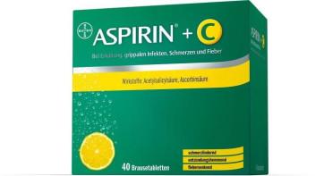 Aspirin plus C Brausetabletten-20 Stück
