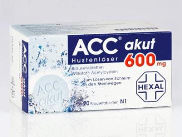 Husten ACC Hexal akut Brausetabletten 600 mg