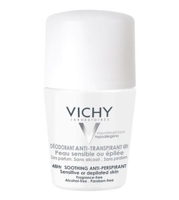 VICHY Deo Roll-On Anti-Transpirant sensible Haut 48h