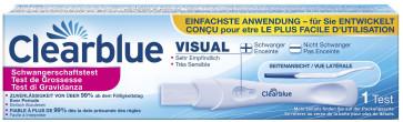 Clearblue visual Schwangerschafts-Frühtest