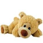 Wärmestofftier Liegender Bär William