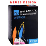 Wellion 28G Lanzetten