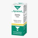 APOZEMA COMPLEX TROPFEN       NR 16 GASTRITIS ARGENTUM          NITRICUM