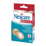 Nexcare Blood Stop Strips 3 Größen 14 Stück